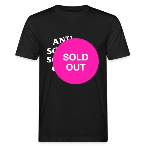 Sold Out - Männer Bio-T-Shirt