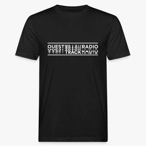 Logo Long blanc - T-shirt bio Homme