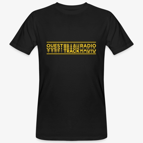 Logo Long jaune - T-shirt bio Homme