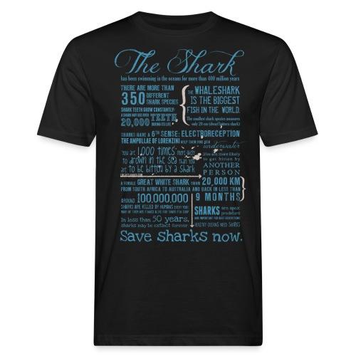 Shark Facts 2018 - Männer Bio-T-Shirt