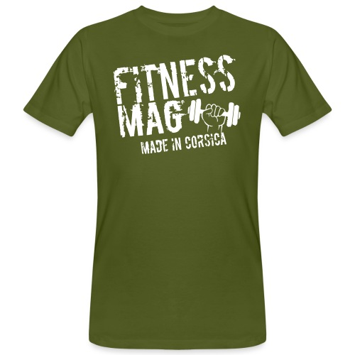 Fitness Mag made in corsica 100% Polyester - T-shirt bio Homme