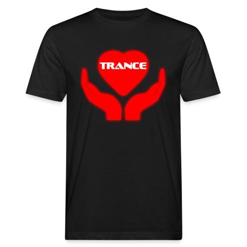 Trancehart - Ekologisk T-shirt herr