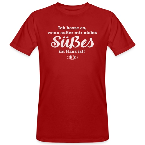 Nichts Süßes - Männer Bio-T-Shirt