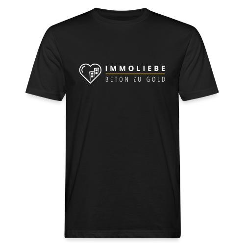 Beton zu Gold mit Immoliebe 💛 - Männer Bio-T-Shirt
