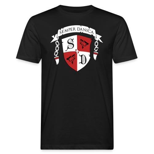 SD logo - hvide lænker - Organic mænd
