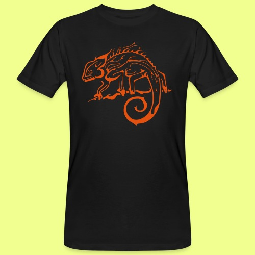iguana - Camiseta ecológica hombre