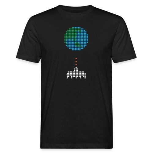 Earth Invaders - Männer Bio-T-Shirt