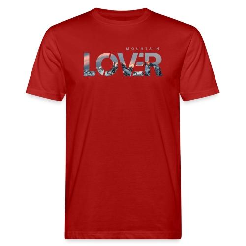 Mountain Lover - T-shirt ecologica da uomo