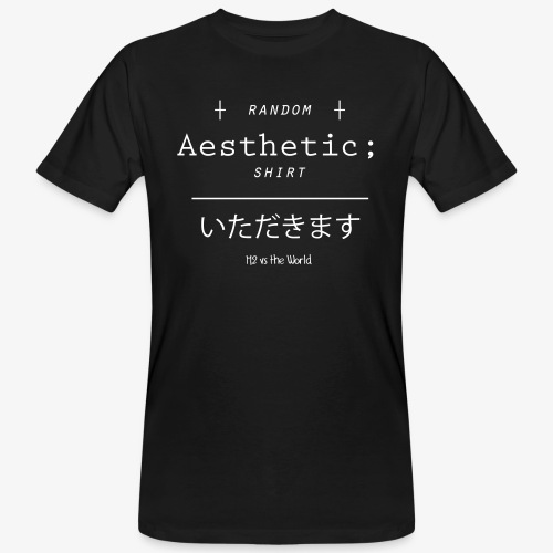 Random Aesthetic - T-shirt ecologica da uomo