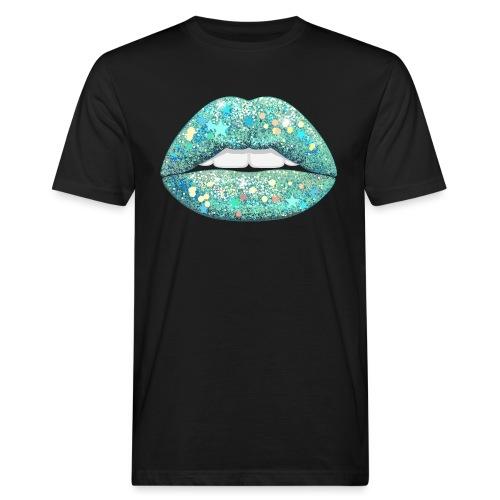 AQUA Shimmer - Men's Organic T-Shirt
