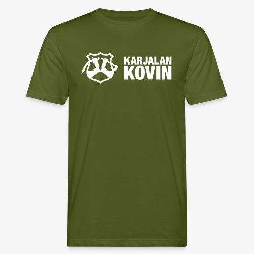 karjalan kovin vaaka - Miesten luonnonmukainen t-paita