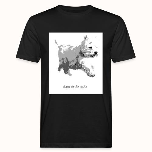 Born to be Wild - Männer Bio-T-Shirt