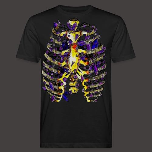 La Cage Thoracique de Cristal Creepy - T-shirt bio Homme