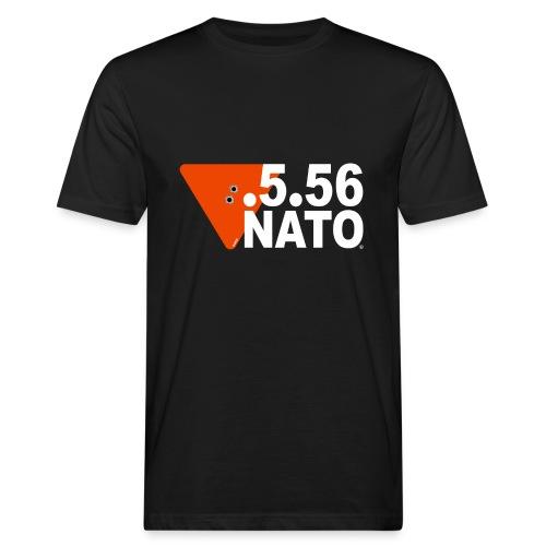 .5.56 NATO BLANC - T-shirt bio Homme