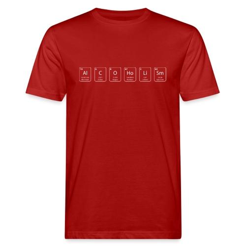 alcoolisme shirt geek - T-shirt bio Homme