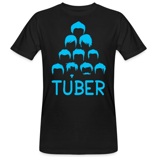 OrdinaryTuber Blue Hair - Men's Organic T-Shirt
