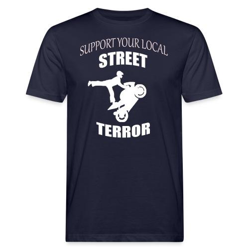 Streetterror Support - Miesten luonnonmukainen t-paita
