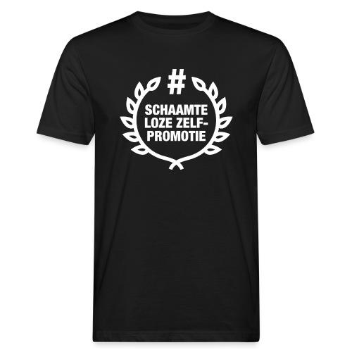 schaamteloze zelfpromotie - Mannen Bio-T-shirt