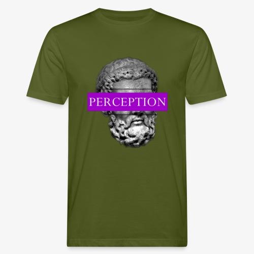 TETE GRECQ PURPLE - PERCEPTION CLOTHING - T-shirt bio Homme