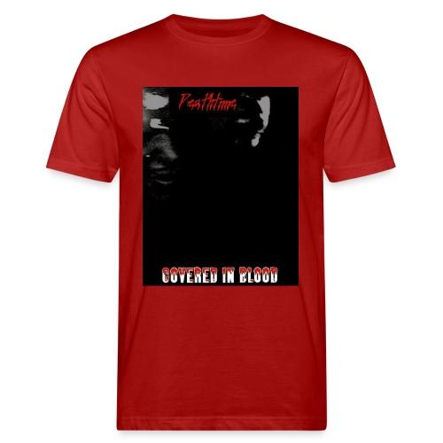 coveredinbloodcovershirt - Miesten luonnonmukainen t-paita