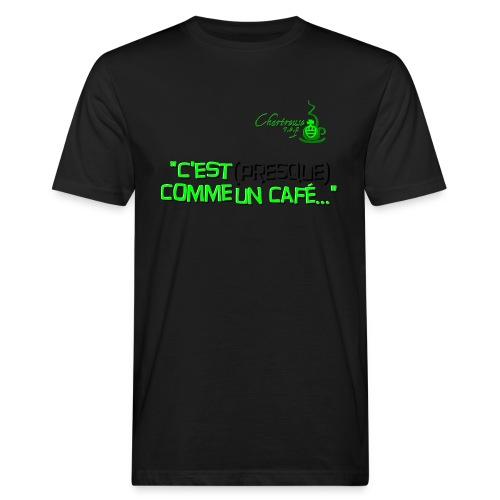 cestcommeuncafe - T-shirt bio Homme