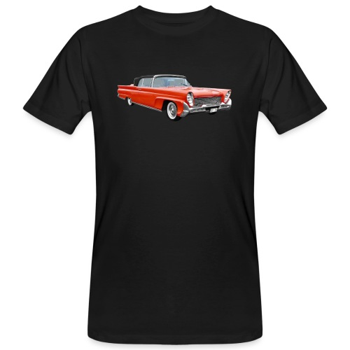 Red Classic Car - Mannen Bio-T-shirt