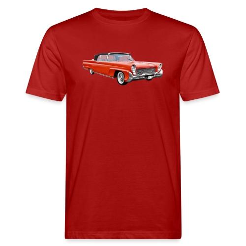 Red Classic Car - Mannen Bio-T-shirt
