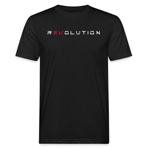REVOLUTION BLACK - Männer Bio-T-Shirt