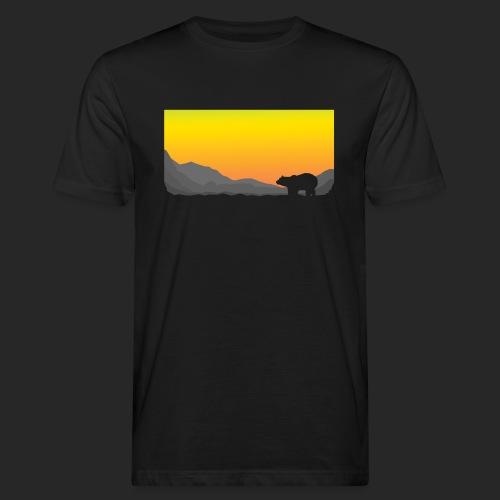 Sunrise Polar Bear - Men's Organic T-Shirt