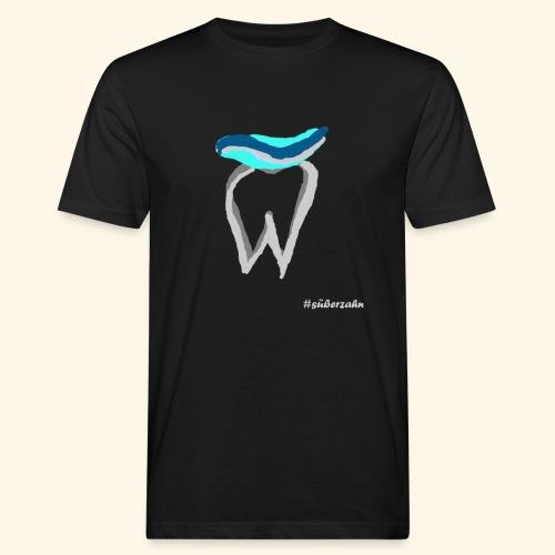 Zahn mit Pasta - Männer Bio-T-Shirt