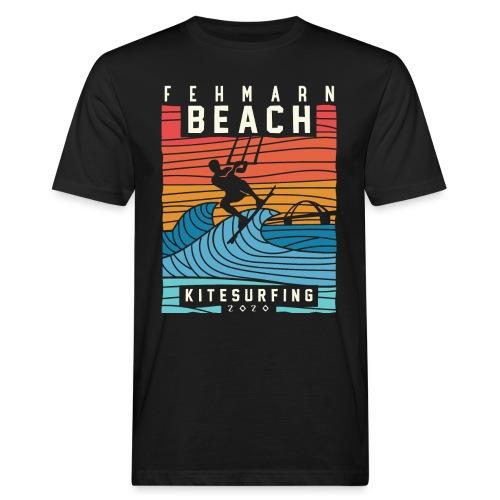 Fehmarn - Kitesurfen - Männer Bio-T-Shirt