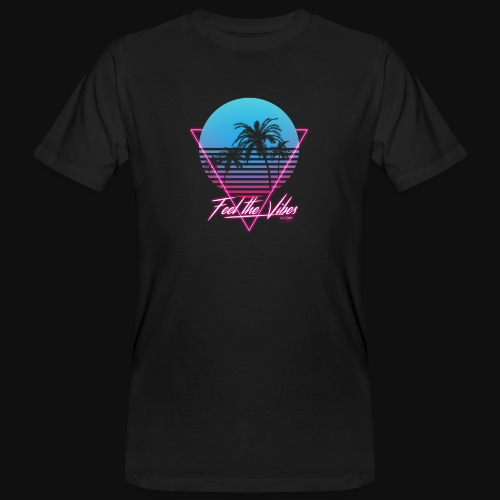 Feel the Vibes - T-shirt ecologica da uomo
