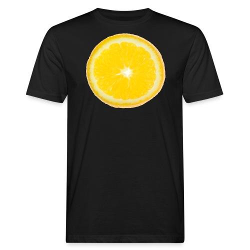 Orange - Männer Bio-T-Shirt