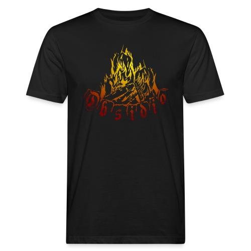 Obsidio Feuer - Männer Bio-T-Shirt
