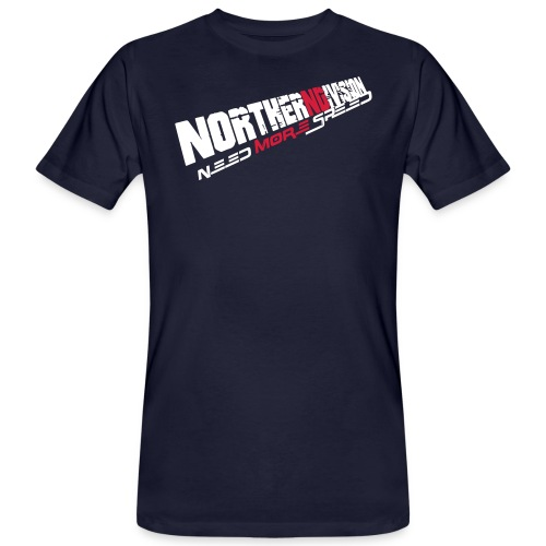 nd badg 2vari perspective - Miesten luonnonmukainen t-paita