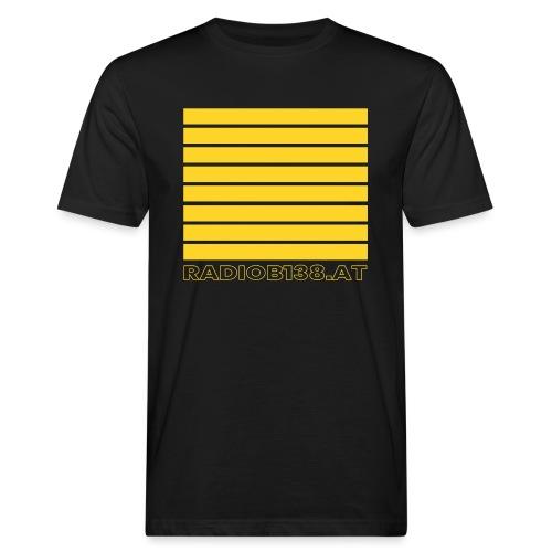 Radio Shirt mit Balken - Männer Bio-T-Shirt