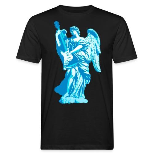 Engel 2018 blauw - Mannen Bio-T-shirt