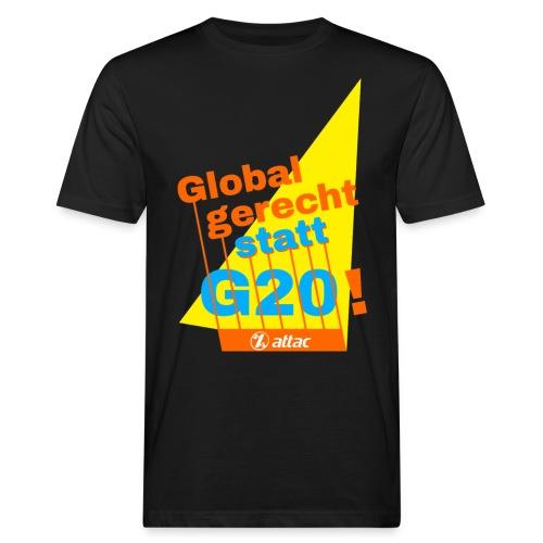 g20-shirts - Männer Bio-T-Shirt