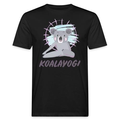 Koalayogi - Økologisk T-skjorte for menn