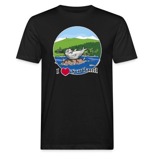 I heart Scotland - Sutherland & Caithness - Men's Organic T-Shirt