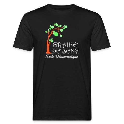 logo GDS Tshirt noir - T-shirt bio Homme