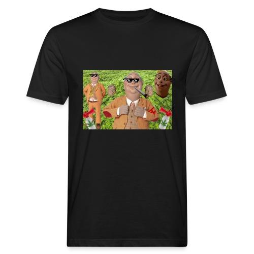 lazymoinnngroß Kopie Kopie png - Männer Bio-T-Shirt