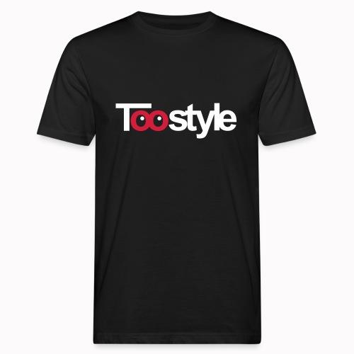 Toostyle white - T-shirt ecologica da uomo
