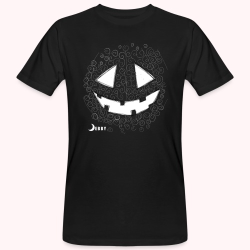 PUMPKIN FACE - 🍂FALL COLLECTION by DEBBY🍁 - T-shirt ecologica da uomo