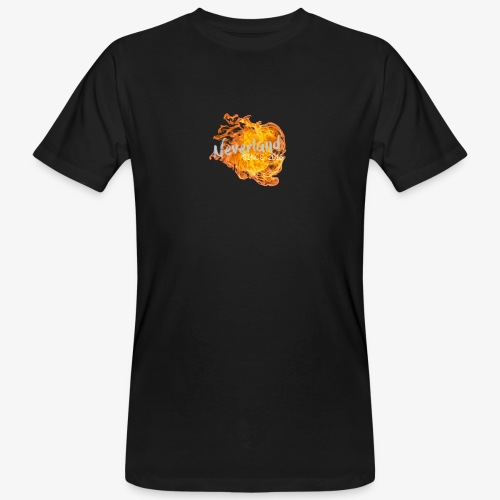 NeverLand Fire - Mannen Bio-T-shirt