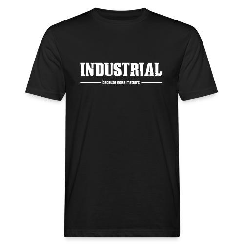industrial vektor front v3 - Men's Organic T-Shirt
