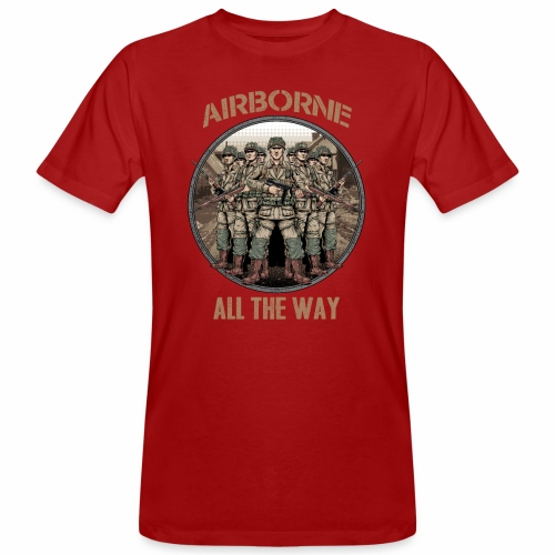 Airborne - Tout le chemin - T-shirt bio Homme