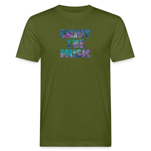 ENJOYTHEMUSIC PALMTREE - Camiseta ecológica hombre