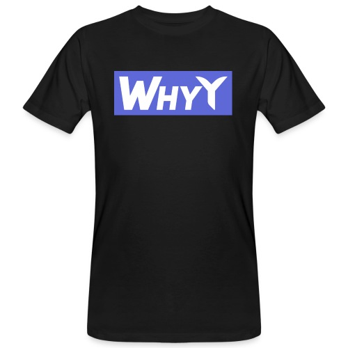 Block Blue | WhyY - Men's Organic T-Shirt