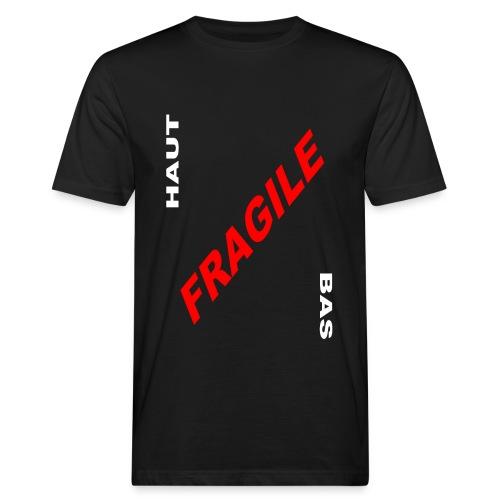 COLIS FRAGILE - T-shirt bio Homme